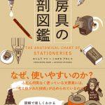 お知らせ:著作『文房具の解剖図鑑』6月末に発売!